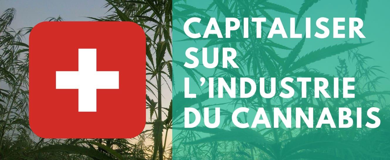 Capitaliser industrie cannabis