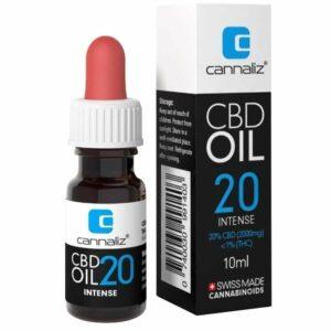 Cannaliz Original Huile CBD 20% à Spectre-Complet (2000mg)