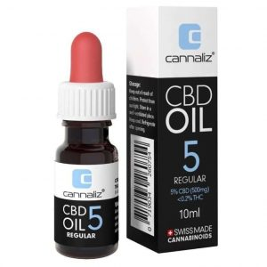 Cannaliz Original Huile CBD 5% à Spectre-Complet (500mg)