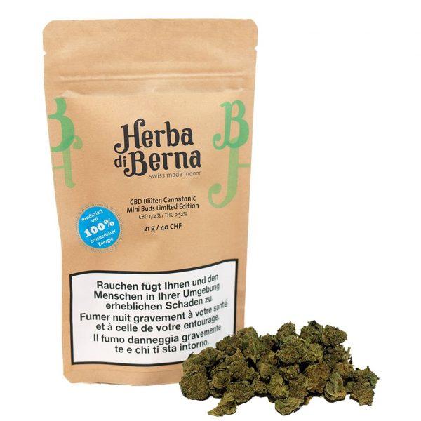 Herba di Berna Cannatonic Indoor Minibuds, Small Buds