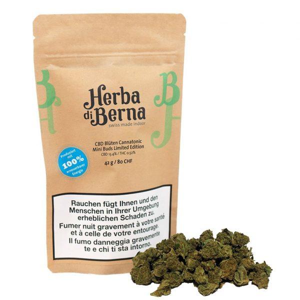 Herba di Berna Cannatonic Indoor Minibuds 1, Small Buds