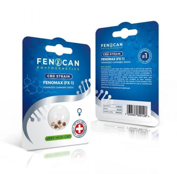 Fenocan Fenomax (FX-1), Graines CBD