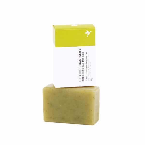 Greenbird Bio Hanfseife Zitronengras, Körperpflege