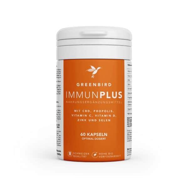 Greenbird ImmunPlus Capsules, Capsules CBD