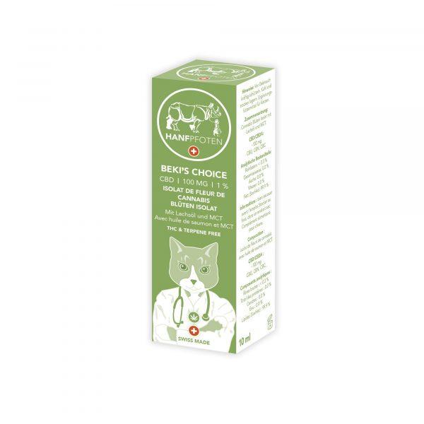 Hanfpfoten Beki's Choice - CBD Oil for Cats (100mg)