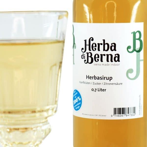 Herba di Berna Sirop de Chanvre Herba