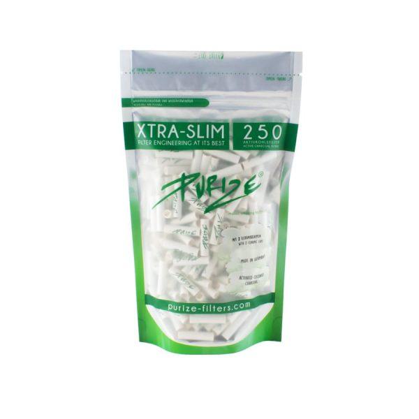 Purize Xtra Slim - Filtres à Charbon Actif 1, Filtres à Cigarettes