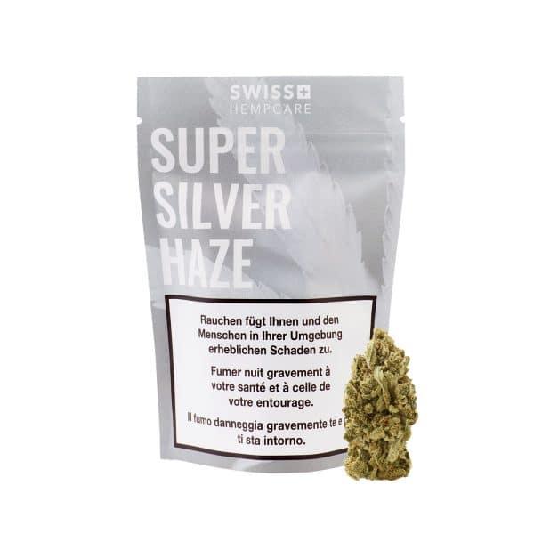 Swiss Hempcare Super Silver Haze, CBD Blüten