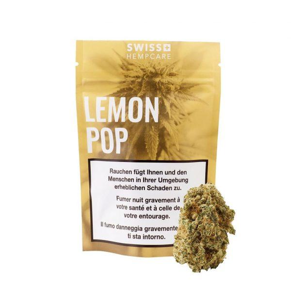 Swiss Hempcare Lemon Pop, CBD Blüten