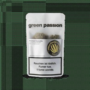 Green Passion Cheesy Passion Popcorn, Kleine Blüten