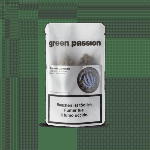Green Passion Passion Haze Indoor, CBD Flowers