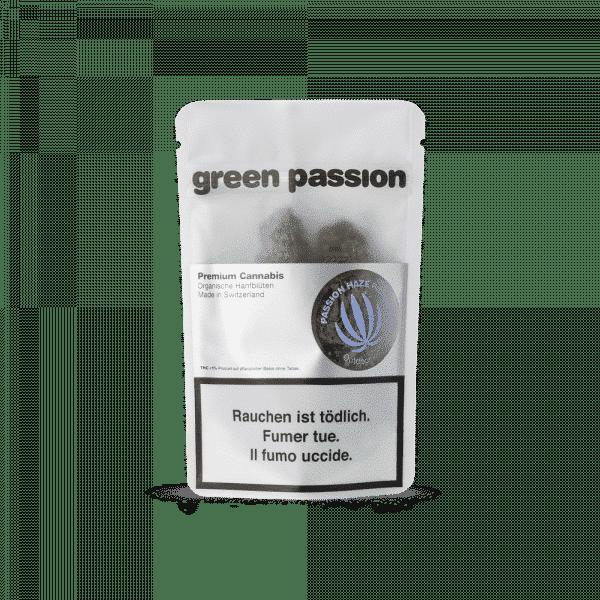 Green Passion Passion Haze Outdoor, CBD Hanf CBD Blüten