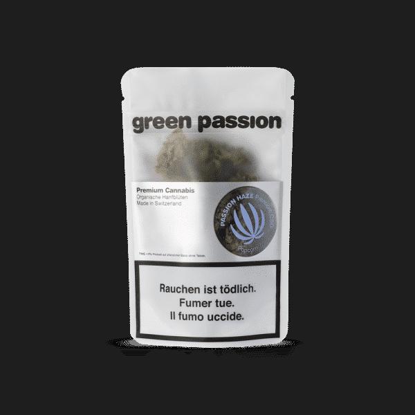 Green Passion Passion Haze Popcorn