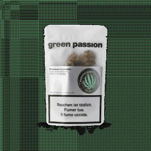 Green Passion Passion Kush Popcorn, Kleine Blüten