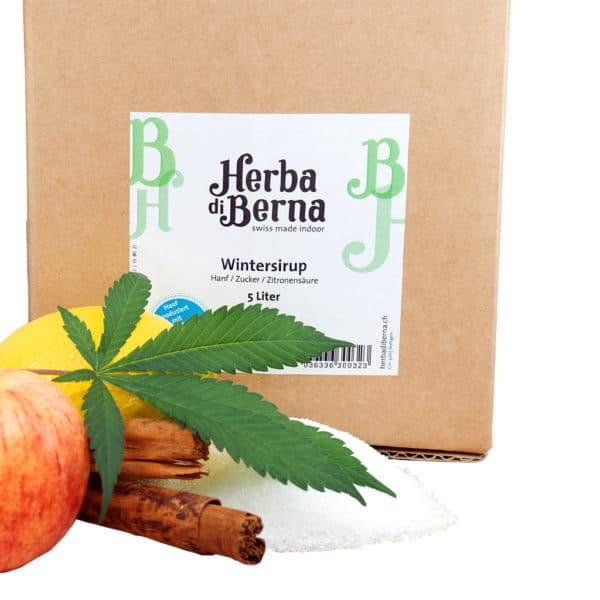 Herba di Berna Winter Syrup, Syrups