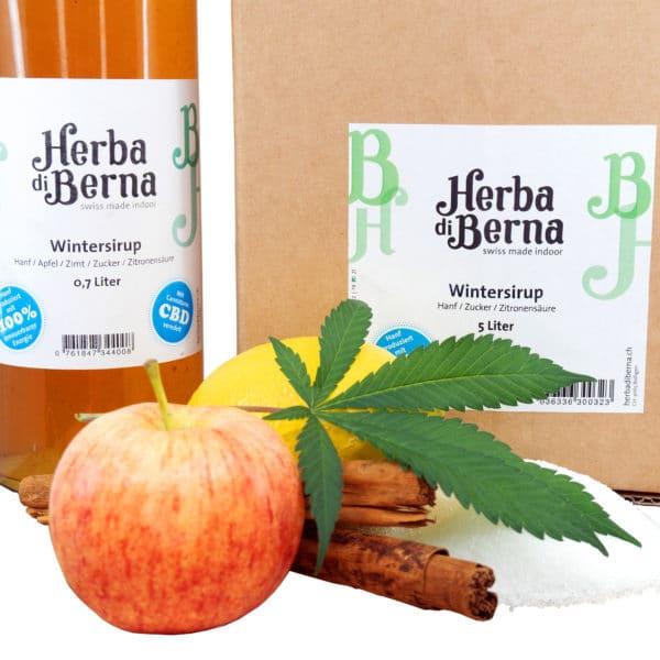 Herba di Berna Winter Syrup 1, Syrups