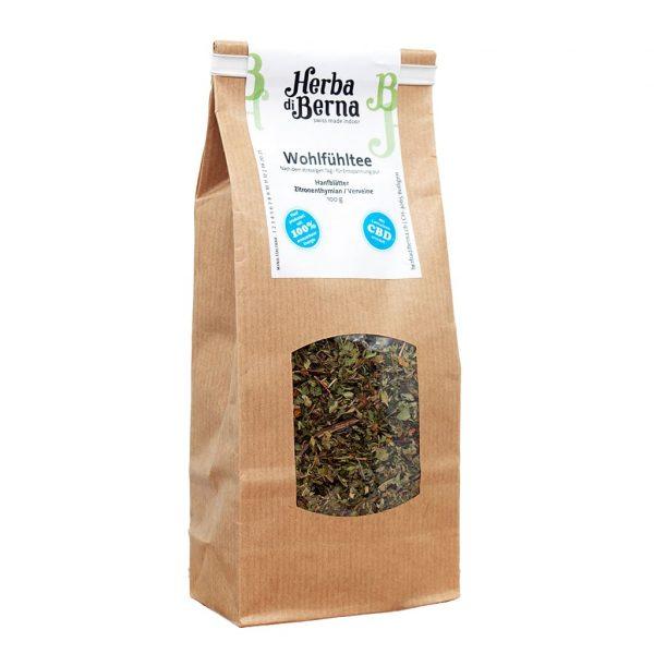 Herba di Berna Wellbeing Tea 1, Hemp Teas