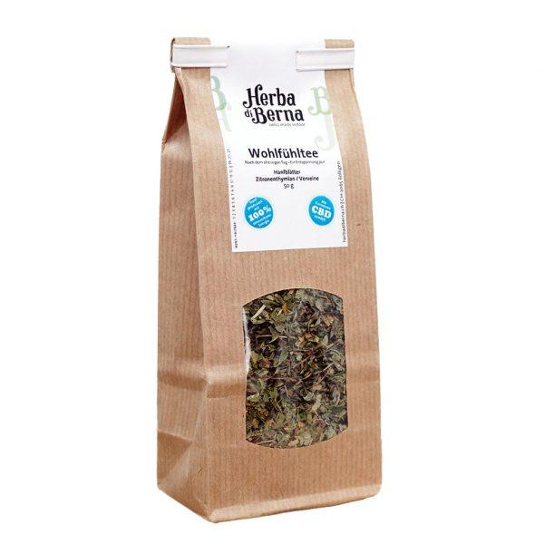 Herba di Berna Wellbeing Tea, Hemp Teas