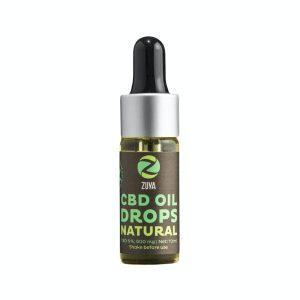 Zuya Natural 6% - Vollspektrum CBD Öl