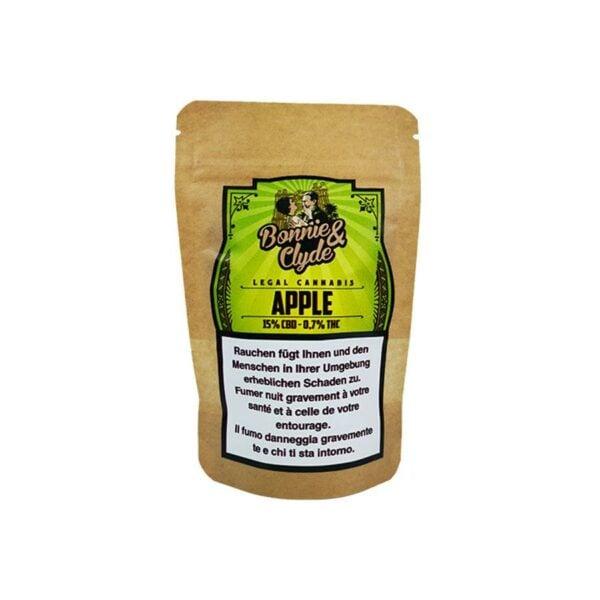 Bonnie & Clyde Apple, Fleurs CBD