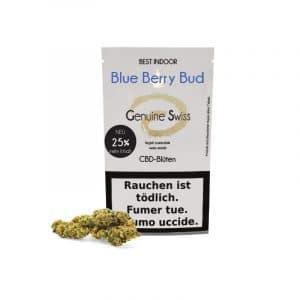 Genuine Swiss Blue Berry Bud