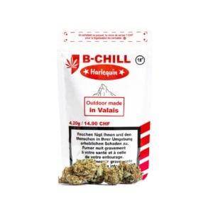 B-Chill Harlequin Outdoor, Fleurs CBD
