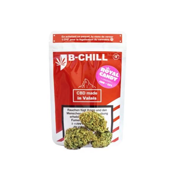 B-Chill Royal Candy, CBD Blüten