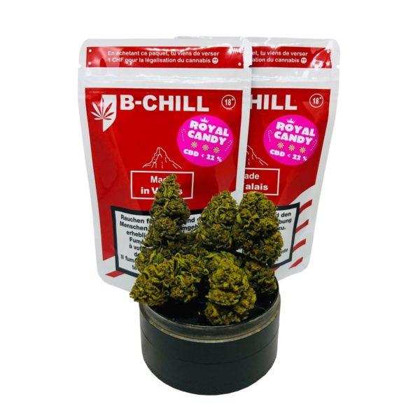 B-Chill Royal Candy, CBD Flowers