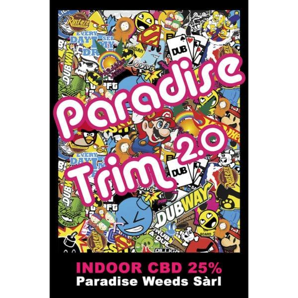 Paradise Weeds Paradise Trim 2.0 1, Trim de CBD