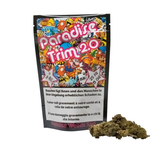 Paradise Weeds Paradise Trim 2.0, Trim de CBD
