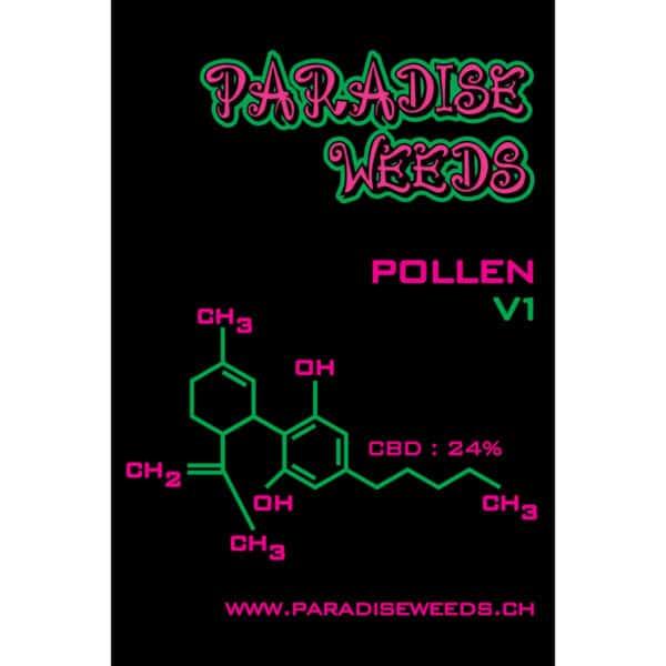 Paradise Weeds CBD Trockenextrakt von V1, CBD Pollen