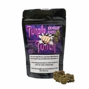 Paradise Weeds Purple Punch Indoor, CBD Flowers