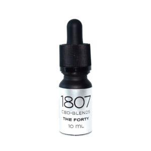 1807 Blends The Forty, CBD Öl kaufen CBD Tropfen