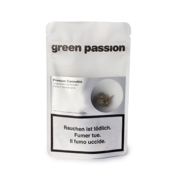 Green Passion Limited Green Berry Popcorn, Fleurs CBD