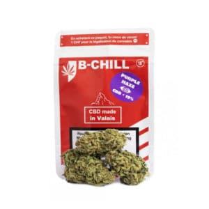 B-Chill Purple Haze, CBD Hanf CBD Blüten
