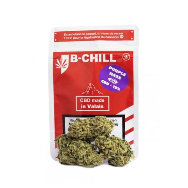 B-Chill Purple Haze, Fleurs CBD