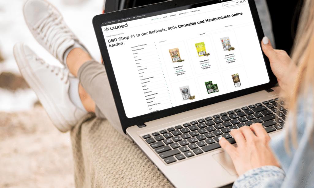 The number 1 Online CBD shop in Switzerland